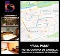Imagen de FULL PASS + ALOJAMIENTO HOTEL CORONA DE CASTILLA HABITACIÓN TRIPLE (100€ POR PERSONA)
