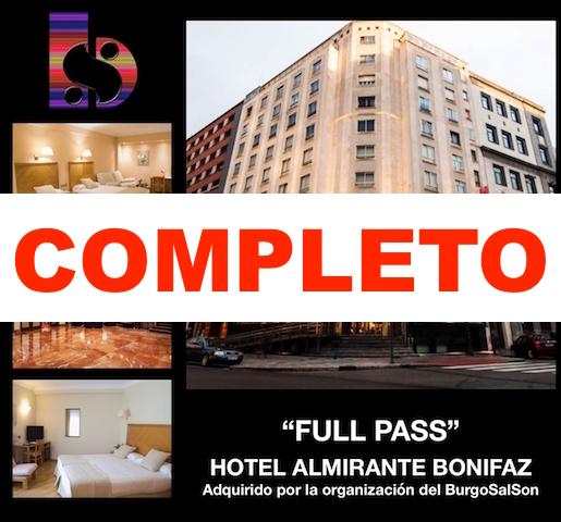 Imagen de FULL PASS + ALOJAMIENTO HOTEL ALMIRANTE BONIFAZ HABITACIÓN DOBLE (111 € POR PERSONA)