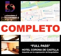 Imagen de FULL PASS + ALOJAMIENTO HOTEL CORONA DE CASTILLA  HABITACIÓN DOBLE (110€ POR PERSONA)