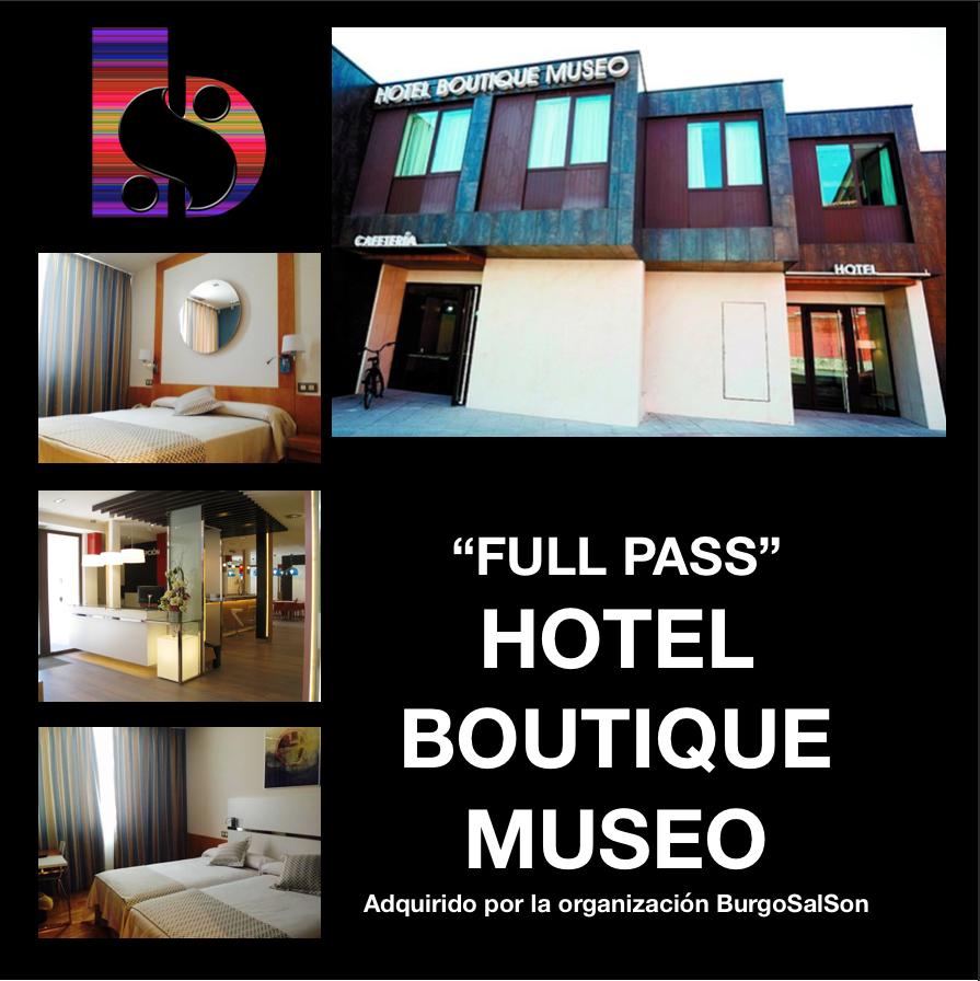 Imagen de FULL PASS + ALOJAMIENTO HOTEL BOUTIQUE HABITACIÓN CUÁDRUPLE (95€ POR PERSONA)